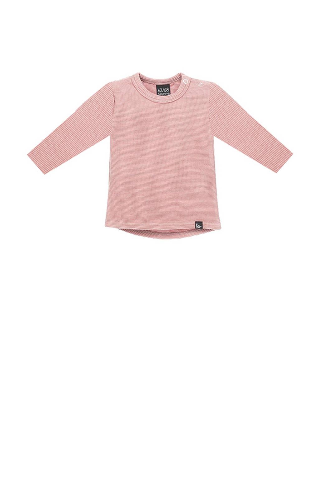 Babystyling longsleeve roze, Roze