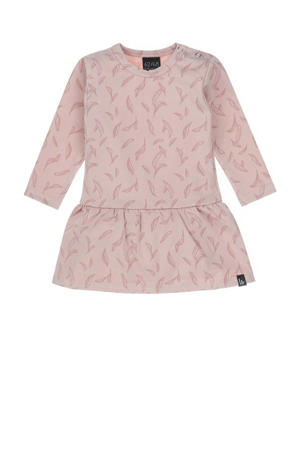 sweatjurk met all over print roze