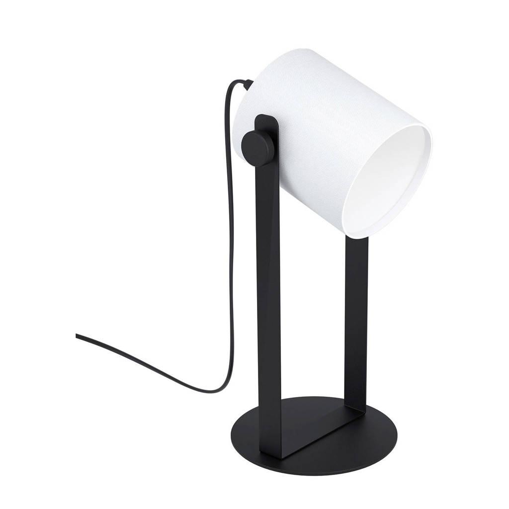 EGLO bureaulamp Hornwood 1, Zwart/wit