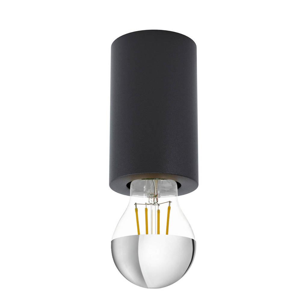 EGLO plafondlamp Saluzzo, Zwart