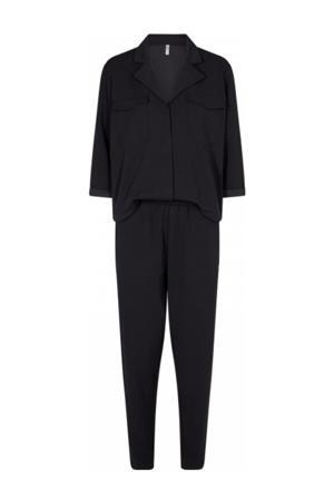 jumpsuit Mascha van gerecycled polyester zwart