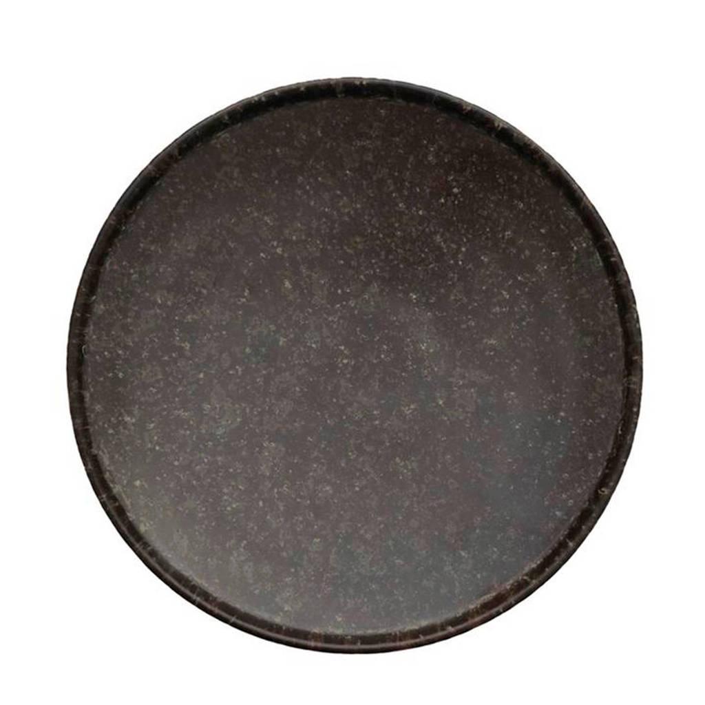 OYOY gebaksbord Inka (Ø18 cm)(set van 2), Bruin