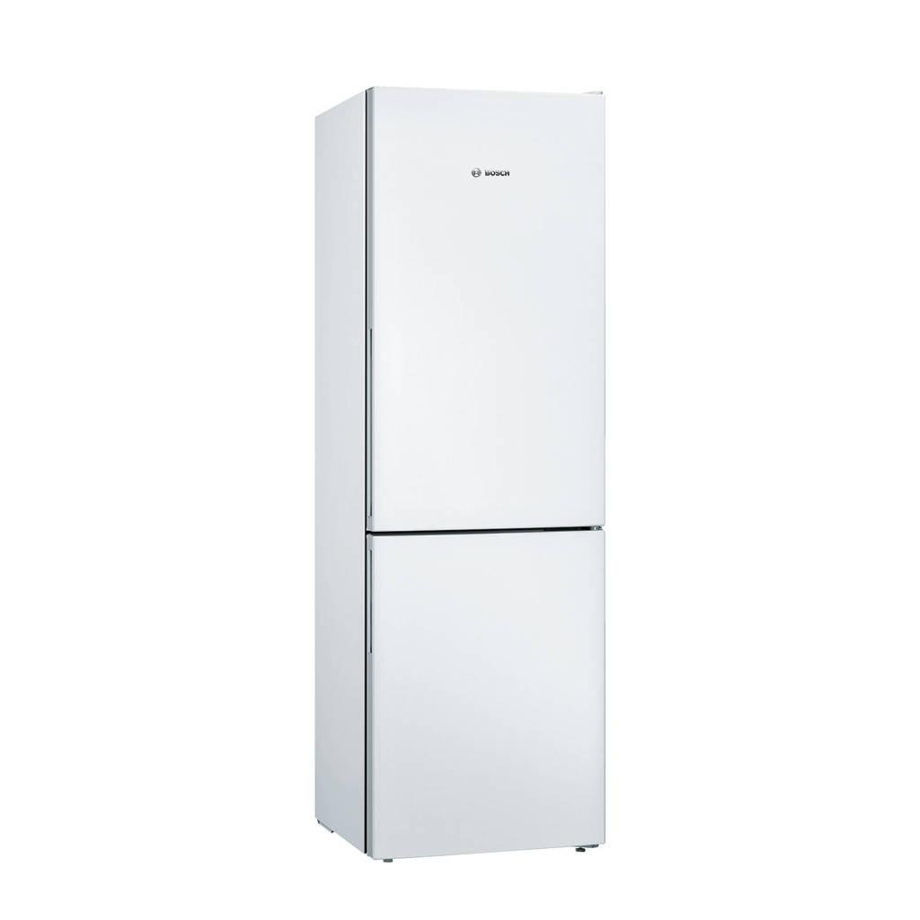 Bosch KGV36VWEAS koel/vries combinatie, Wit