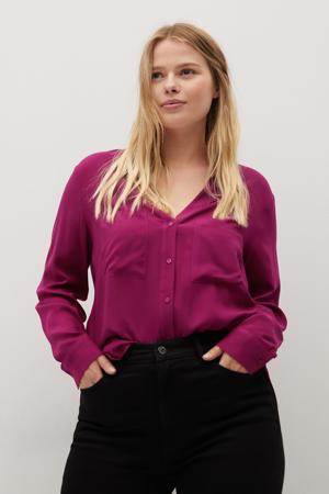 blouse fuchsia