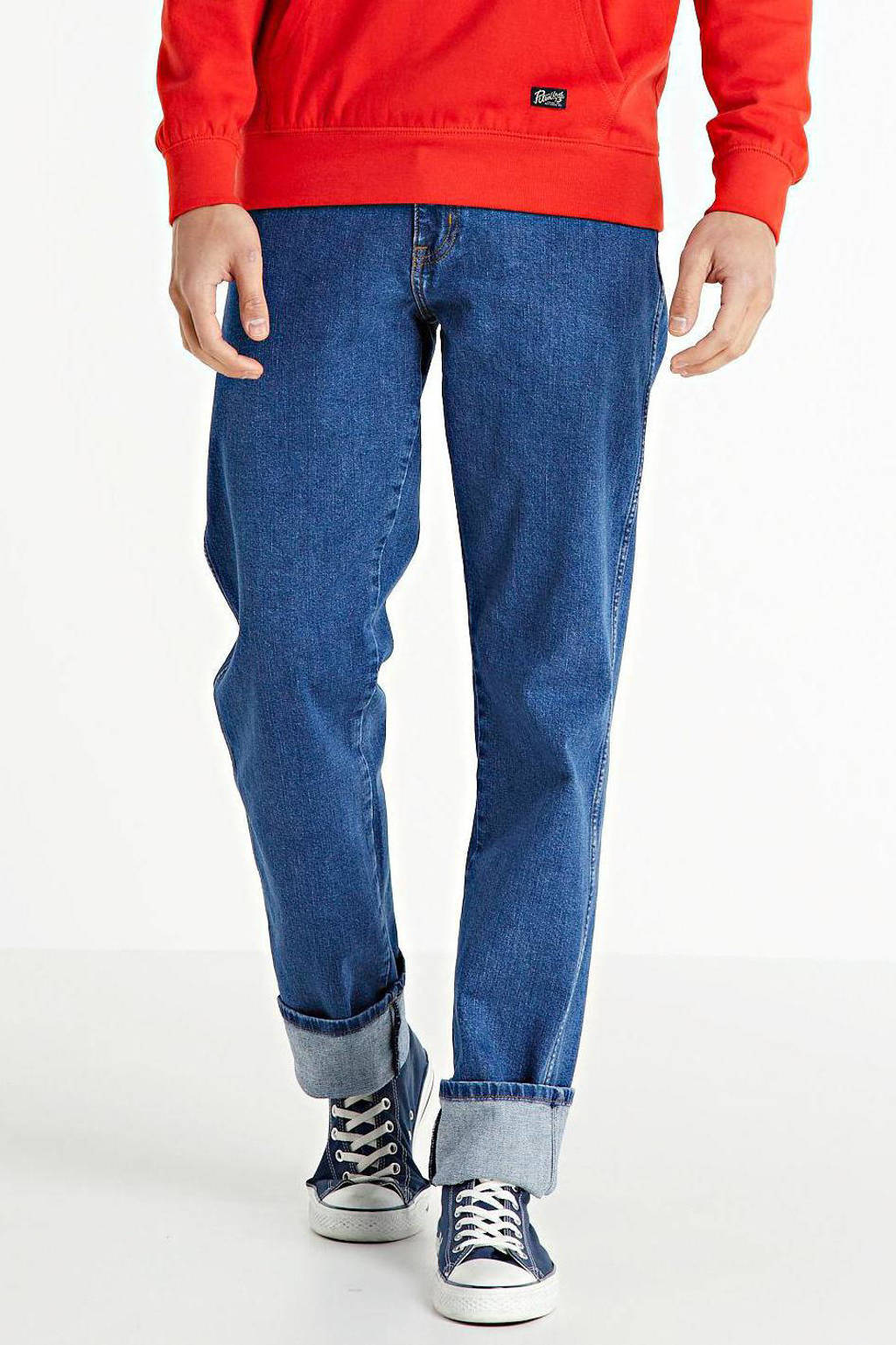 Wrangler straight fit jeans Texas mid rocks, Mid Rocks
