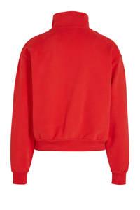 Levi's sweater met logo rood, Rood