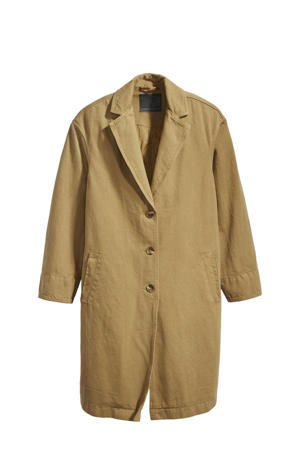 coat Luna golden touch garment dye