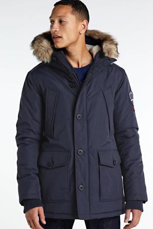 parka jas Everest donkerblauw