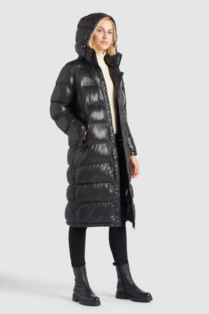 gewatteerde jas Feodora zwart