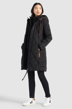 gewatteerde winterjas Elessa 200 black
