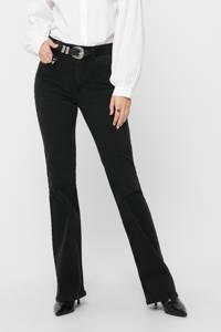JACQUELINE DE YONG flared regular waist jeans antraciet, Antraciet