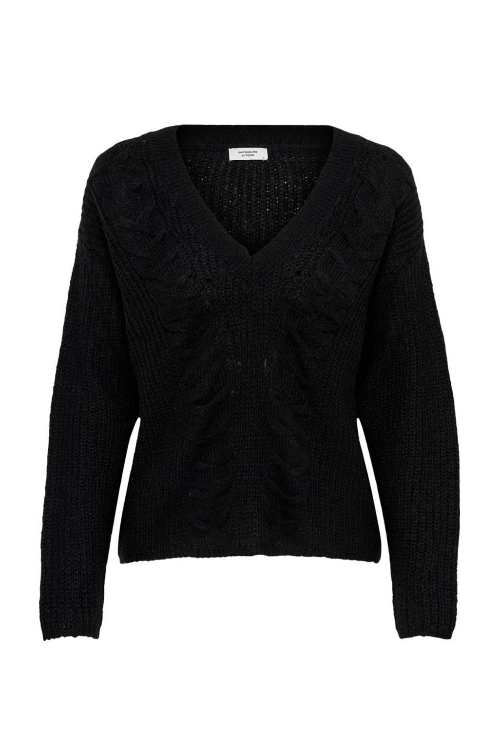 JACQUELINE DE YONG trui Miella zwart, Zwart