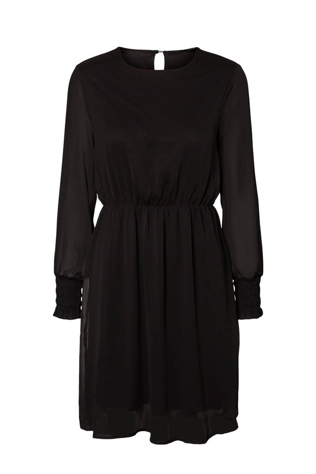 VERO MODA blousejurk zwart, Zwart