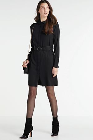 jurk Peri met ceintuur zwart