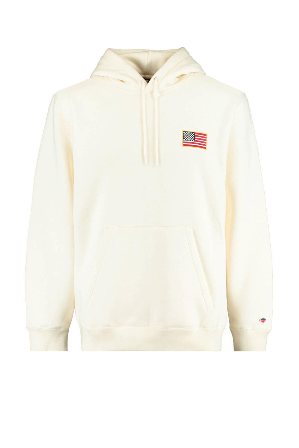 America Today hoodie ecru, Ecru
