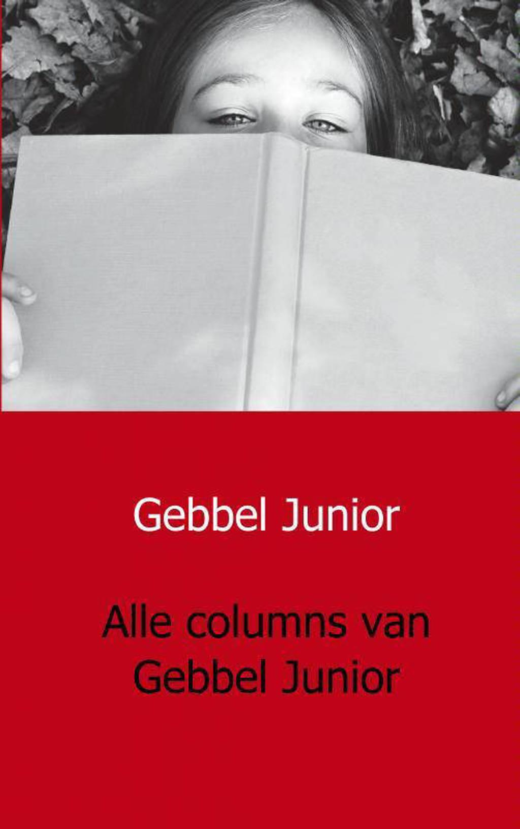 Alle columns van Gebbel Junior - Gebbel Junior