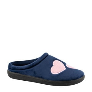 pantoffels blauw/roze