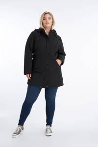 MS Mode parka jas zwart, Zwart