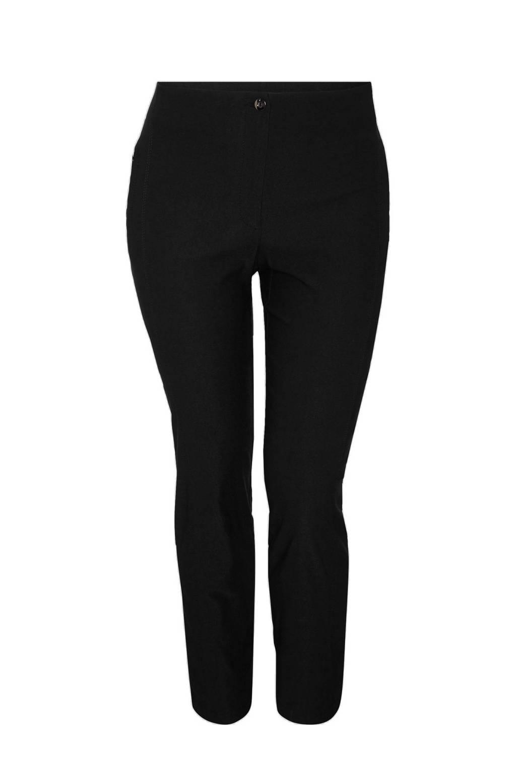 C&A XL Yessica high waist skinny tregging zwart, Zwart