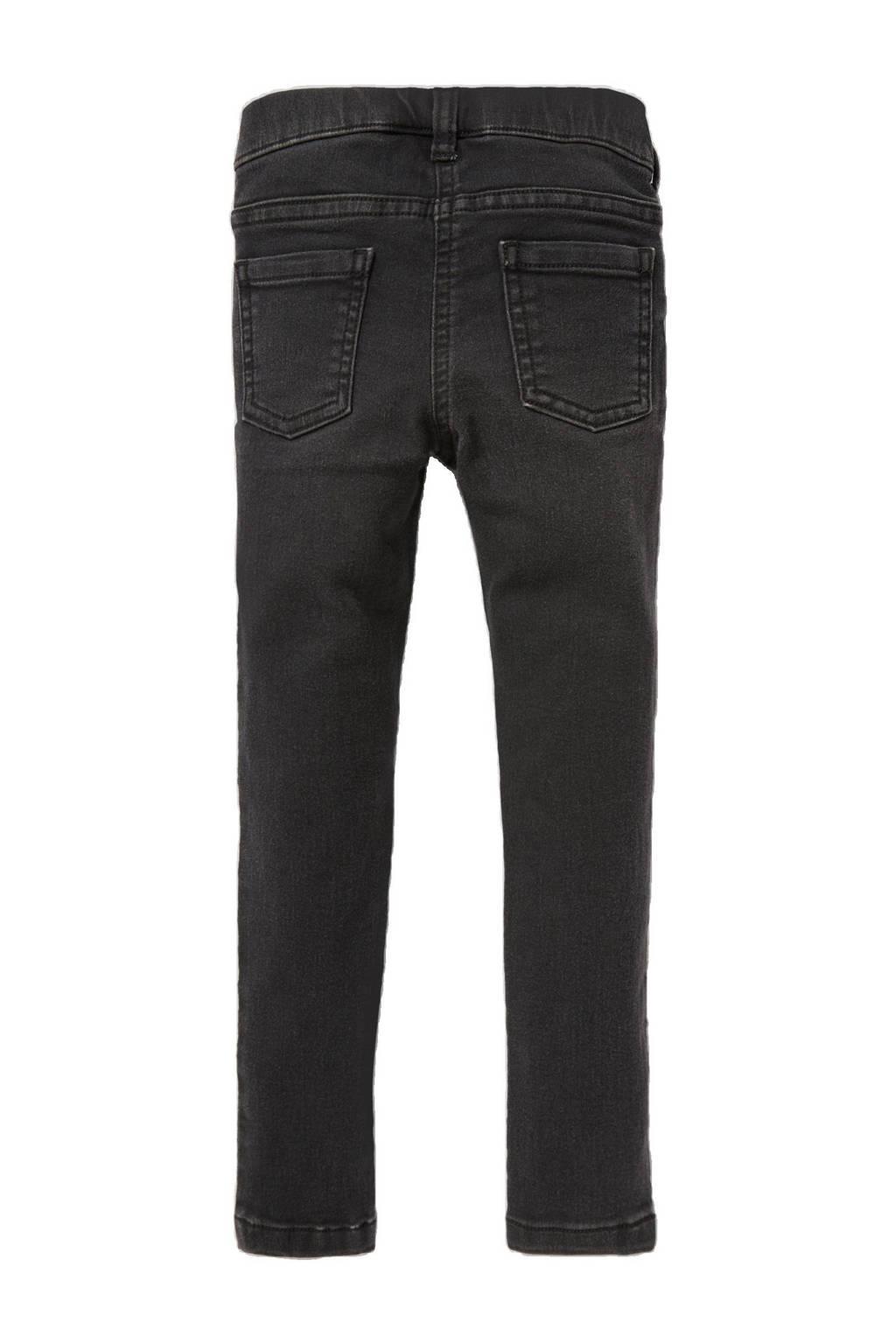 C&A slim fit jeans zwart, Zwart