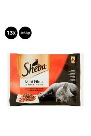 Mini Filets in saus - 13x 4x85g