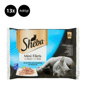 Mini filets in saus Vis klein - 13x 4x85g