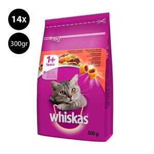 Brokjes Junior Rund kattenvoer - 14x 300 g