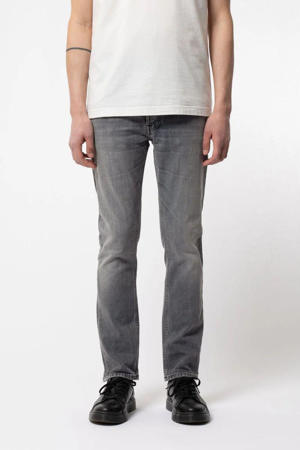 slim fit jeans Grim Tim grijs