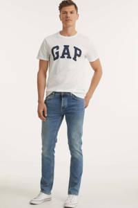 Nudie Jeans slim fit jeans Grim Tim blue meadow, Blue Meadow