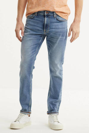 tapered fit jeans Lean Dean indigo hub