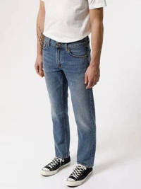 Nudie Jeans regular straight fit jeans Gritty Jackson Old Gold