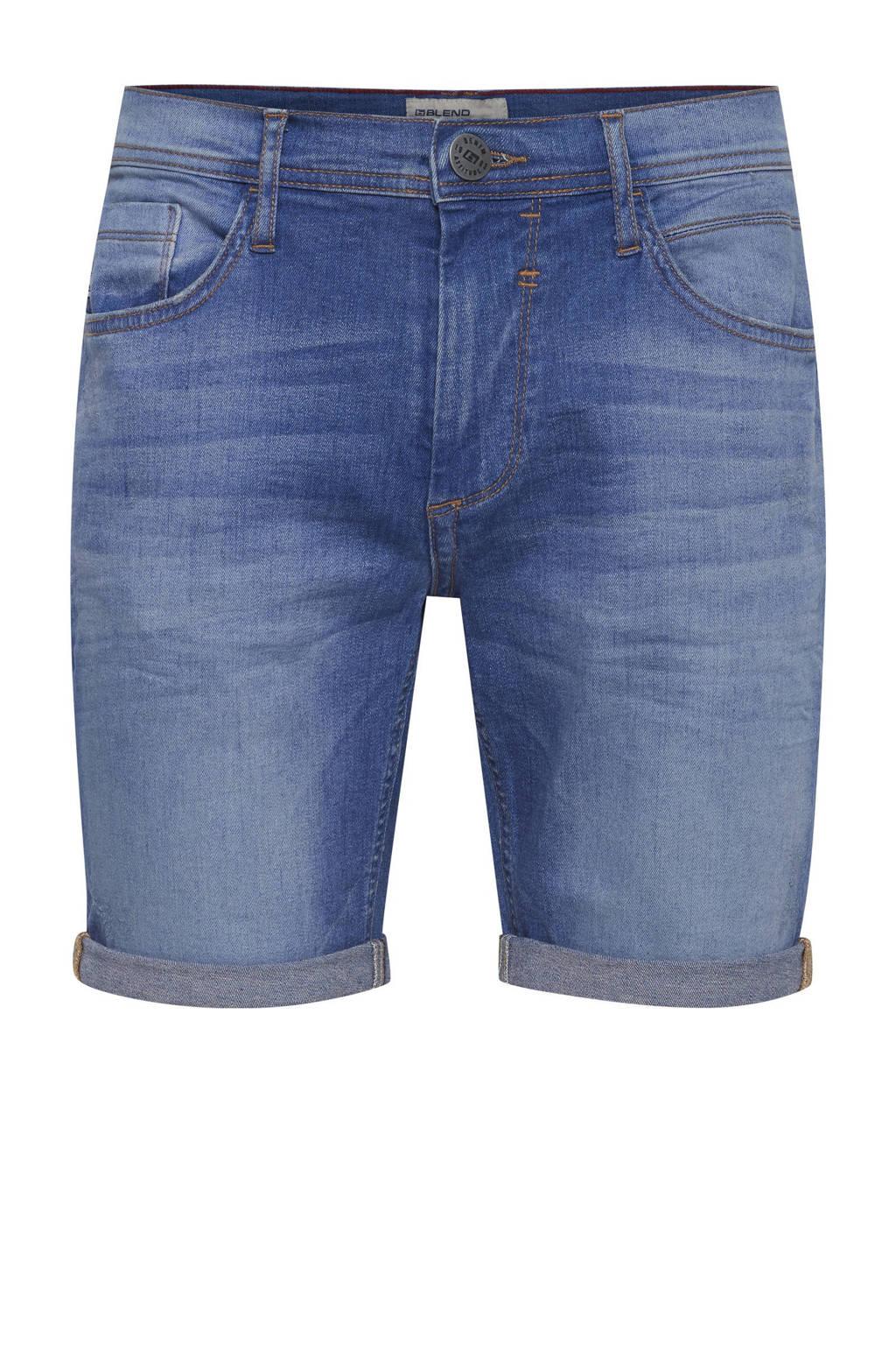 Blend regular fit jeans short denim clear blue, Denim Clear Blue