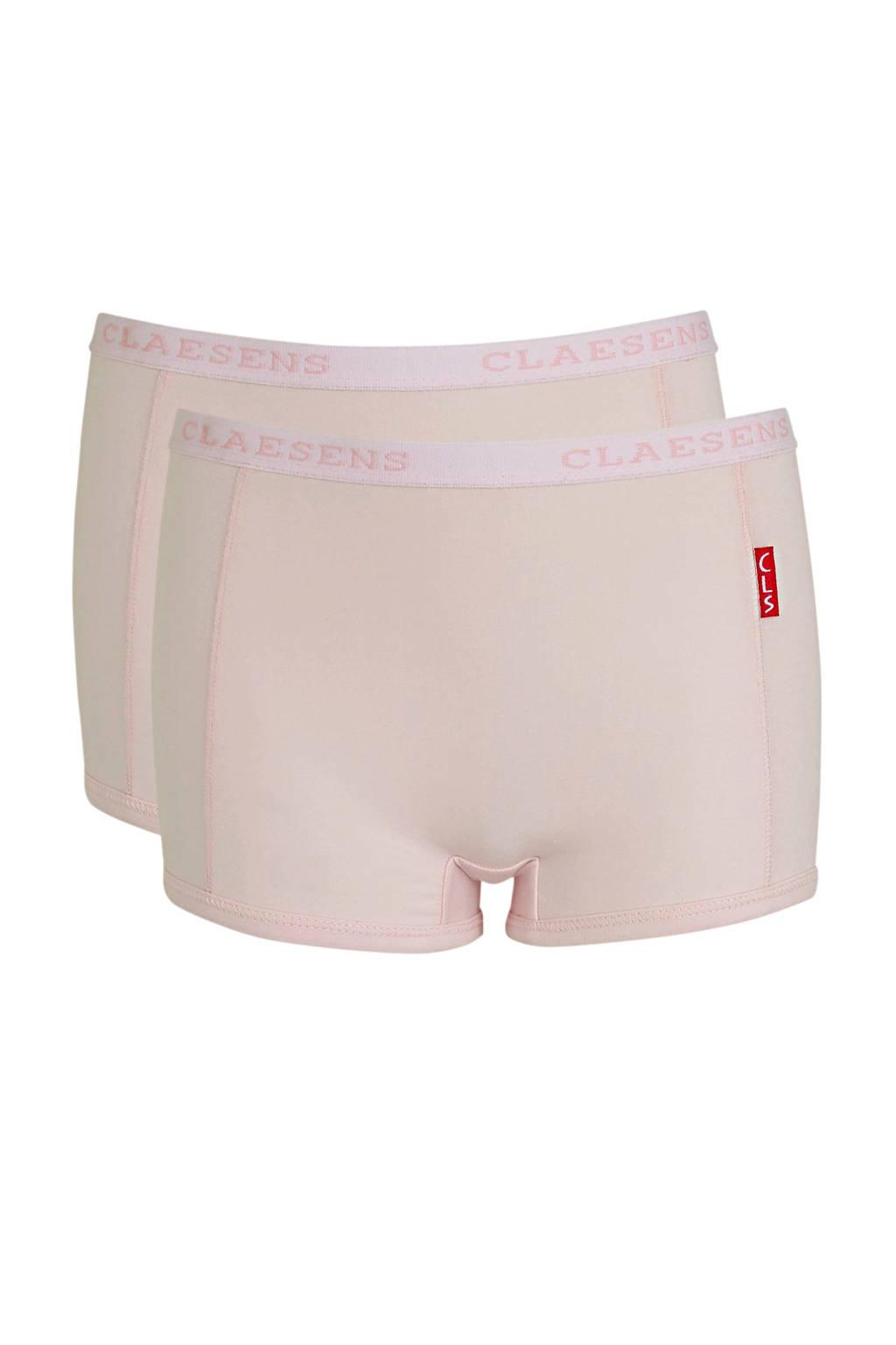 Claesen's short - set van 2 roze, Roze