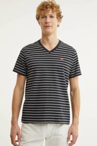 Levi's gestreept T-shirt zwart/wit, Zwart/wit