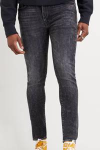 Levi's 519 skinny taper jeans zwart smoke on the pond, Smoke