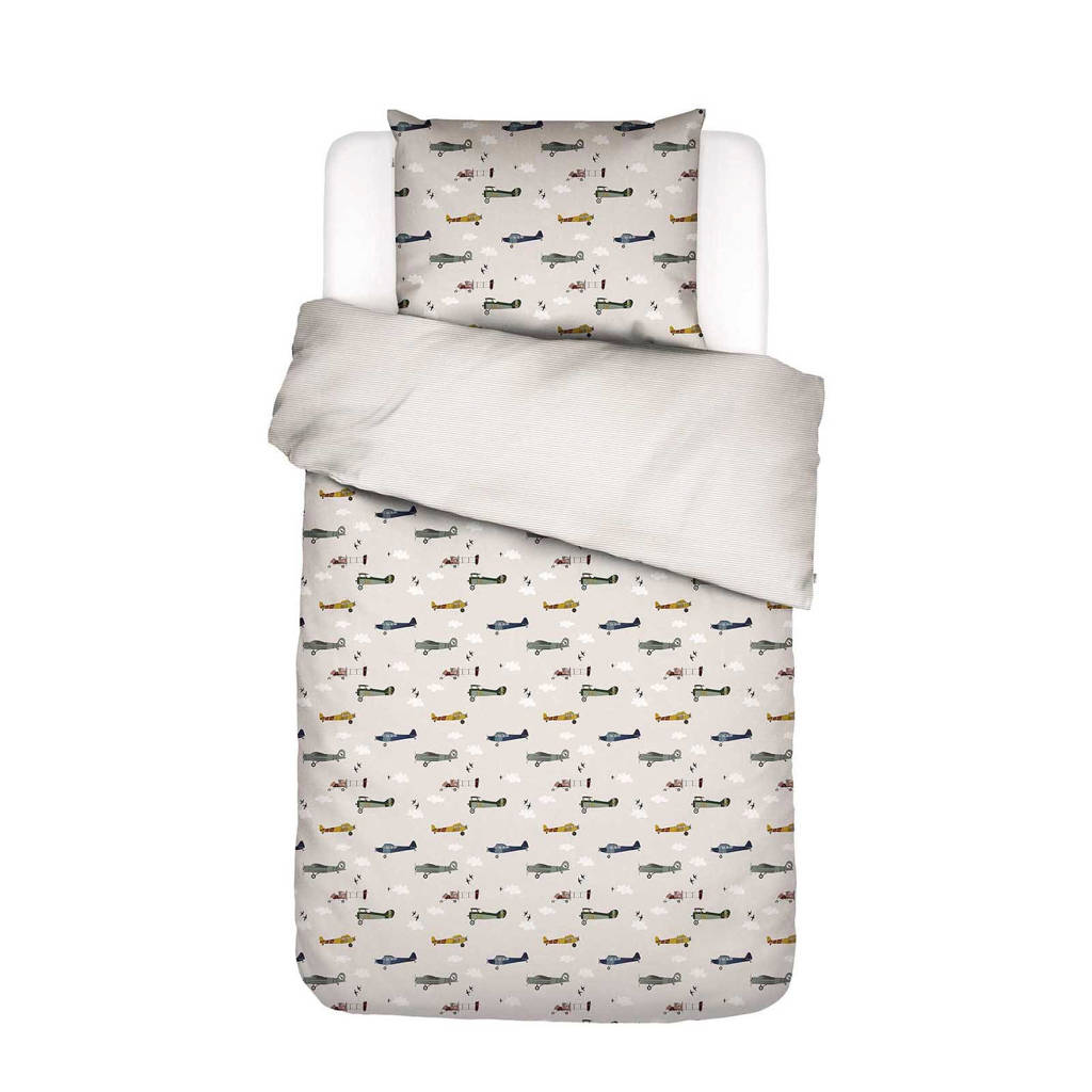 Covers & Co perkalkatoenen kinderdekbedovertrek, 1 persoons (140 cm breed)