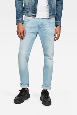 3301 slim fit jeans sun faded crystal blue