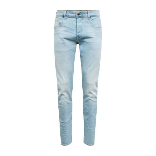 G-Star RAW 3301 slim fit jeans sun faded crystal blue