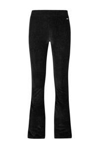 Retour Denim gestreepte flared legging Feliz zwart, Zwart