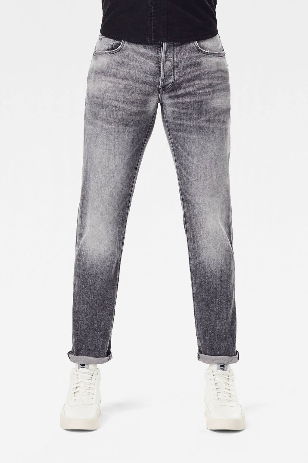G-Star RAW 3301 slim fit jeans faded anchor, Faded anchor