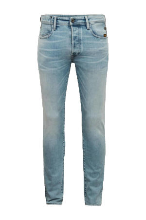 G-bleid slim fit jeans sun faded aqua marine