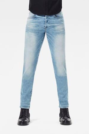 3301 straight tapered fit jeans sun faded aqua marine