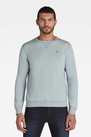 sweater Premium core met biologisch katoen lichtblauw