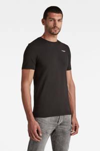 G-Star RAW T-shirt met biologisch katoen zwart, Zwart