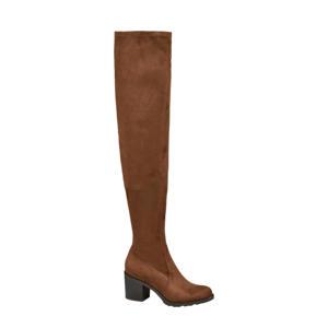 overknee laarzen bruin