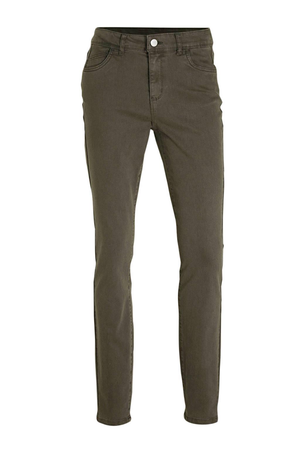 C&A Yessica skinny jeans olijfgroen, Olijfgroen