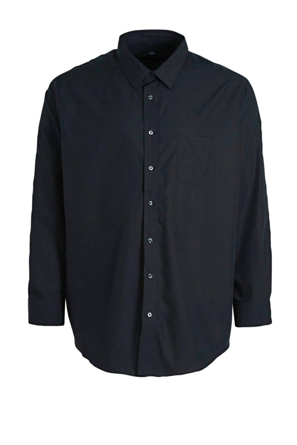 C&A XL regular fit overhemd zwart, Zwart