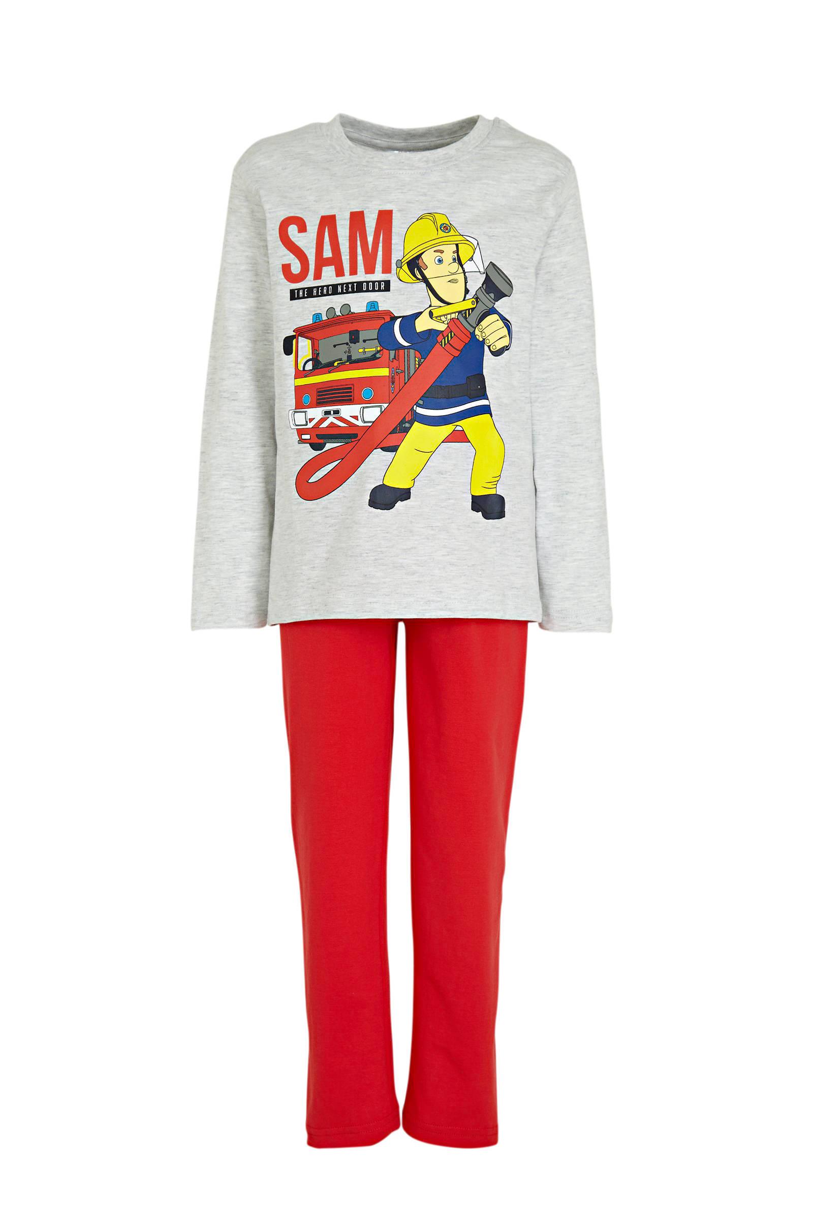 C&A Palomino Brandweerman Sam pyjama roodblauw | wehkamp