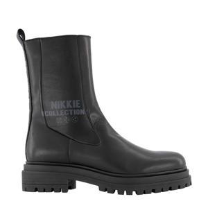 Bailey Boots  hoge leren chelsea boots zwart