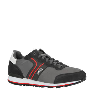 Parkour_Runn_nymx2  sneakers donkergrijs/rood